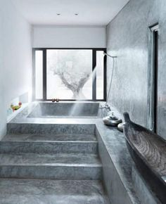 The ancient Romans used concrete to build some pretty impressive baths — and you can, too. Concrete is cheap, incredibly versatile, and can be used in a multitude of ways (provided, of course, you have a contractor who knows what they're doing). Check out these 12 stylish examples.