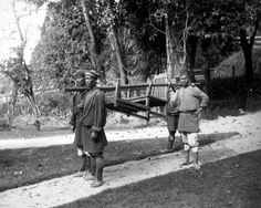 "Palanquin or ""Dandy"" bearers of the British Raj"