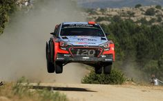 Download wallpapers Hyundai I20 WRC, rally, Dani Sordo, Racing car, extreme