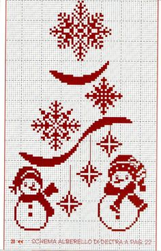 Cross stitch - Christmas *<3* Point de croix Noël