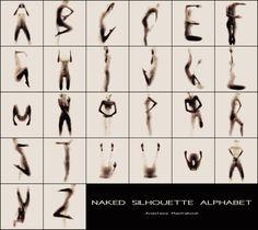 Das Silhouetten Alphabet von Anastasia Mastrakouli | KlonBlog
