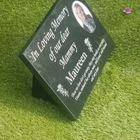 Tagged items: granite grave stone on Folksy Grave Plaques, Granite Colors, Pictures Of You, Cemetery, Craft Supplies, Cool Designs, Grave Markers, Memories, Stone