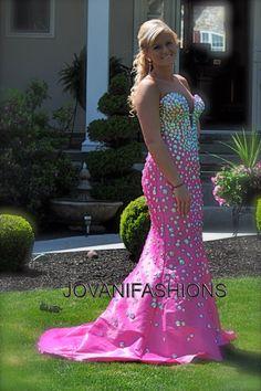 #Jovani Prom style 944. Gorgeous pink gown from Jovani.   http://www.jovani.com/prom-dresses/jovani-944-111056