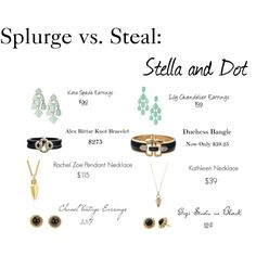 """""""Splurge vs. Steal: Stella and Dot"""" shop now or repin for a chance to take home free http://www.stelladot.com/denikaclay"""
