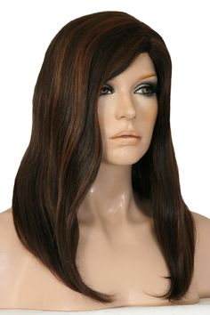 Ava henry margu premium synthetic range a beautiful modern wig dark brown with auburn highlights ik the manikin is creepy but i like the hair pmusecretfo Image collections