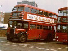 romford, 1975 London Bus, East London, Rt Bus, Routemaster, London History, Double Decker Bus, Bus Coach, London Transport, Commercial Vehicle