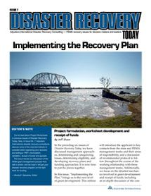 Implementing the Recovery Plan: Project formulation, worksheet development and receipt of funds #FEMA