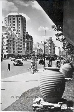 BU-F-01073-6-00055-012 Bulevardul Brătianu. Bucureşti, 1935 (niv.Document)