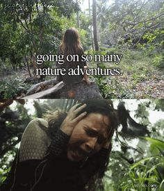 just girly thing parody hunger games nature