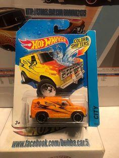 HOT WHEELS Color Shifters Orange Baja Breaker Van