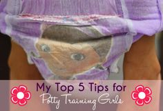 My Top 5 Tips for Potty Training Girls #PottyTraining #sp www.thestitchinmommy.com
