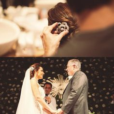 Com decoração clássica, Luciana e Walmir se casaram no Jockey Club em São Paulo. A noiva estava maravilhosa e usou camélias Bibiana Paranhos com design moderno de brilhantes e ouro branco. Muito amor e felicidade para o casal! #bibianaparanhos #noivasbybibiana #wedding #saopaulo #noivas #casamento
