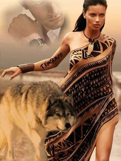 Native American Drawing, Native American Girls, American Indian Art, Wolves And Women, Wolf Love, Beautiful Wolves, Anime Wolf, Fantasy Women, Double Exposure