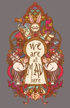 ideas quotes alice in wonderland lewis carroll tattoos Alicia Wonderland, Adventures In Wonderland, Arte Disney, Disney Art, Animation Disney, Chesire Cat, Alice Madness Returns, Were All Mad Here, Mad Hatter Tea