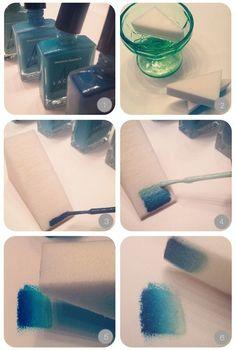 DIY: Shaded nails