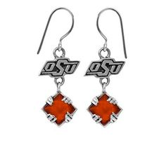 OSU Earrings #Okstate