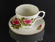 Duchess Bone China Teacup by MountainAireVintage on Etsy, $12.00