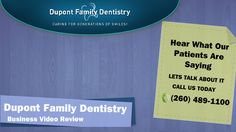 Dupont Family Dentistry Fort Wayne IN 10215 Dupont Cir Dr W,  Fort Wayne, IN 46825 Phone:(260) 489-1100 Watch the review here: https://www.youtube.com/watch?v=IJbsHeutrcQ