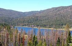 Delmoe Lake - near Butte, Montana