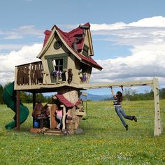Daniels Wood Land Playhouses (Photos) - Luxist