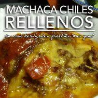 Machaca Chile Rellenos – Low Carb Keto | Grain Free |Gluten Free