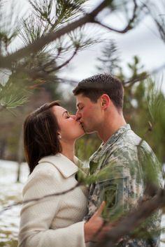 facebook.com/cbosphotography  Engagement Photography Military Engagement Winter Engagement Shoot