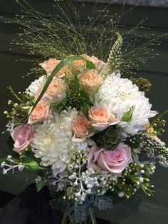 Garden flower bouquet by Rob Jennings.