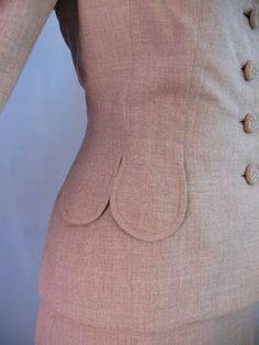 Vintage Detail: 1940s Suit