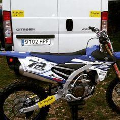 Kisacar con el Motocross