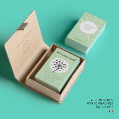 Modele De Carte Visite Pour Un Salon Beaute Dans Le Style Frais Et