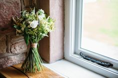 Vintage just picked style bouquet by Sheffield florist Campbell's Flowers. Glass Vase, Wedding Flowers, Bouquet, Sheffield, Vintage, Home Decor, Style, Swag, Decoration Home