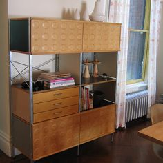 I always wanted an office with an Eames wall unit.