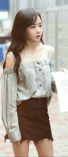 Korean actress Moon Geun Young