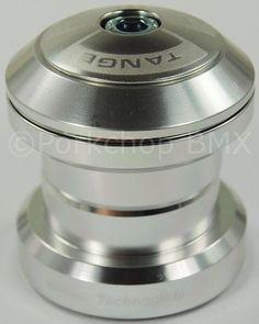 "Tange LAV-82 TG36J27 J27 BMX Headset Alloy 1 1/8"""" Threadless SEALED SILVER"