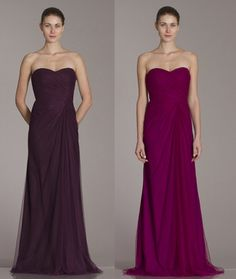 450214 Shown in Plum and Framboise Tulle