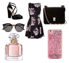 """Untitled #30"" by massamisso on Polyvore featuring Nina, Valentino, Illesteva, ban.do and Guerlain"
