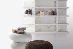 Kreoo marble seats indoors