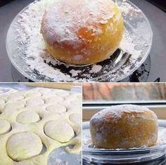 Click pe poza pentru reteta ingrediente si mod de preparare... Beignets, Romanian Food, Romanian Recipes, Cake Cookies, I Foods, Donuts, Bakery, Good Food, Food And Drink