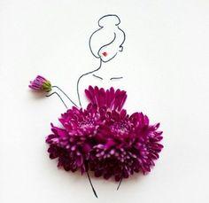 original Flower dress on We Heart It.