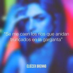 """""""Se me caen los ríos que anidan truncados en la garganta"""" –Eliécer Brenno  Foto: @markvelasquez101 / @sparksss patreon.com/markvelasquez — La Causa patreon.com/eliecerbrenno — #lagrimas #quotes #writers #escritores #EliecerBrenno #reading #textos #instafrases #instaquotes #panama #poemas #poesias #pensamientos #autores #argentina #frases #frasedeldia #CulturaColectiva #letrasdeautores #chile #versos #barcelona #madrid #mexico #microcuentos #nochedepoemas #megustaleer #accionpoetica #colombia…"""