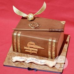 Harry Potter Cake by the royal bakery in california