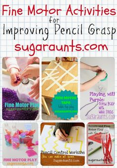 Sugar Aunts: Gift Guide Toys to Improve Pencil Grasp