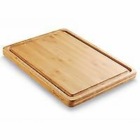 Reversible Bamboo Carving Board | Buy Quality Kitchenware at PamperedChef.com...Beautiful piece besides being durable.