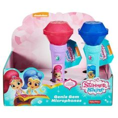Fisher-Price Shimmer And Shine Genie Gem Microphone Assortment