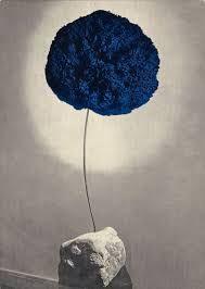 invitation card for 'bas-reliefs dans une for& d& at galerie iris clert, paris Iris, Invitation Cards, Invitations, Yves Klein, Simple Designs, Illustration Art, Design Inspiration, Graphic Design, Image