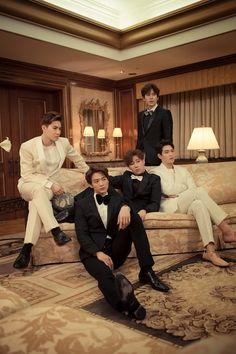 Suho, Minho, Sunggyu, Jonghyun, Kyuhyun | Fluttering India