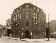 Divisional Office adjacent to Camberwell bus garage, Warner Road, photographed by Topical Press, September 1936. Photograph 1998/70470 - Photographic collection, London Transport Museum