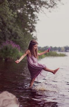 """We could never have loved the earth so well if we had had no childhood in it."" ~ George Eliot, The Mill on the Floss"