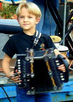 Hunter Hayes as a child - the way I remember him (& I know he's not from New Orleans, I just put him in this category)