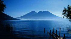 Workaway in Guatemala. Lac Atitlan, glaming écologique et fun ! Lake Atitlan, Mount Rainier, Glamping, Mountains, Nature, Summer, Fun, Travel, Fin Fun
